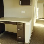 2 Bedroom unit unit desk